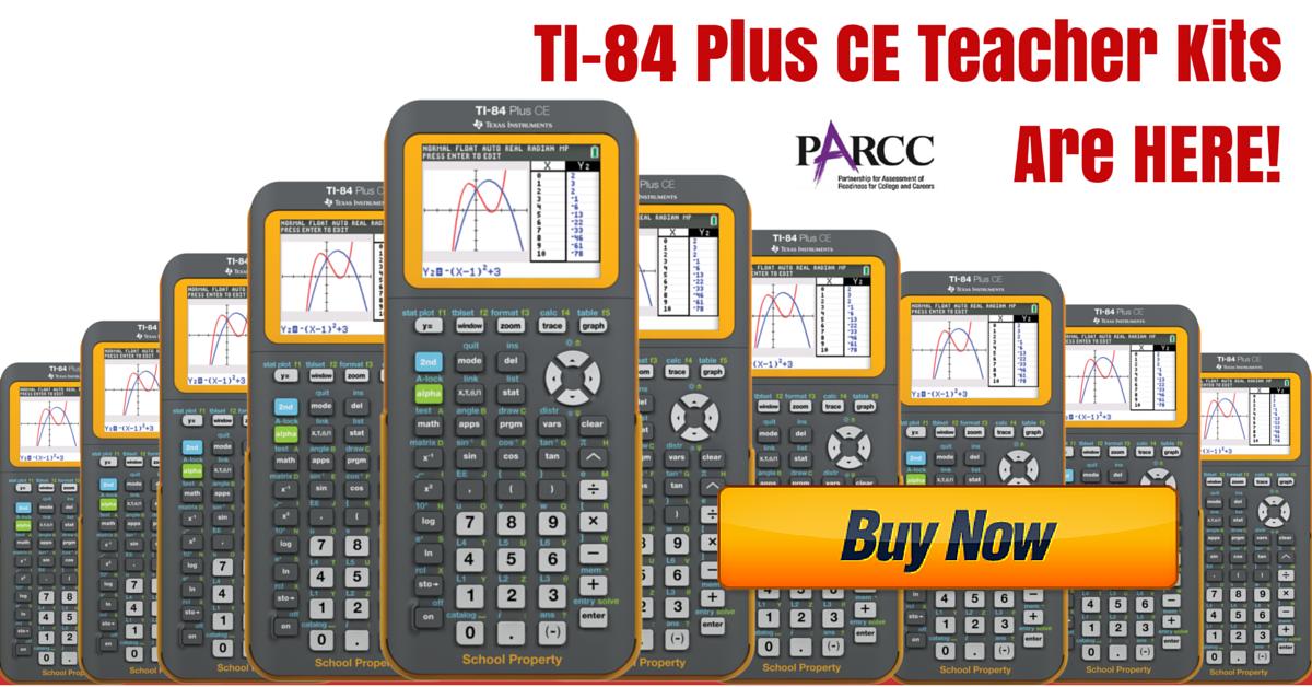 Ti 84 Plus Ce Teacher Kit In Stock Available Now Parcc Test