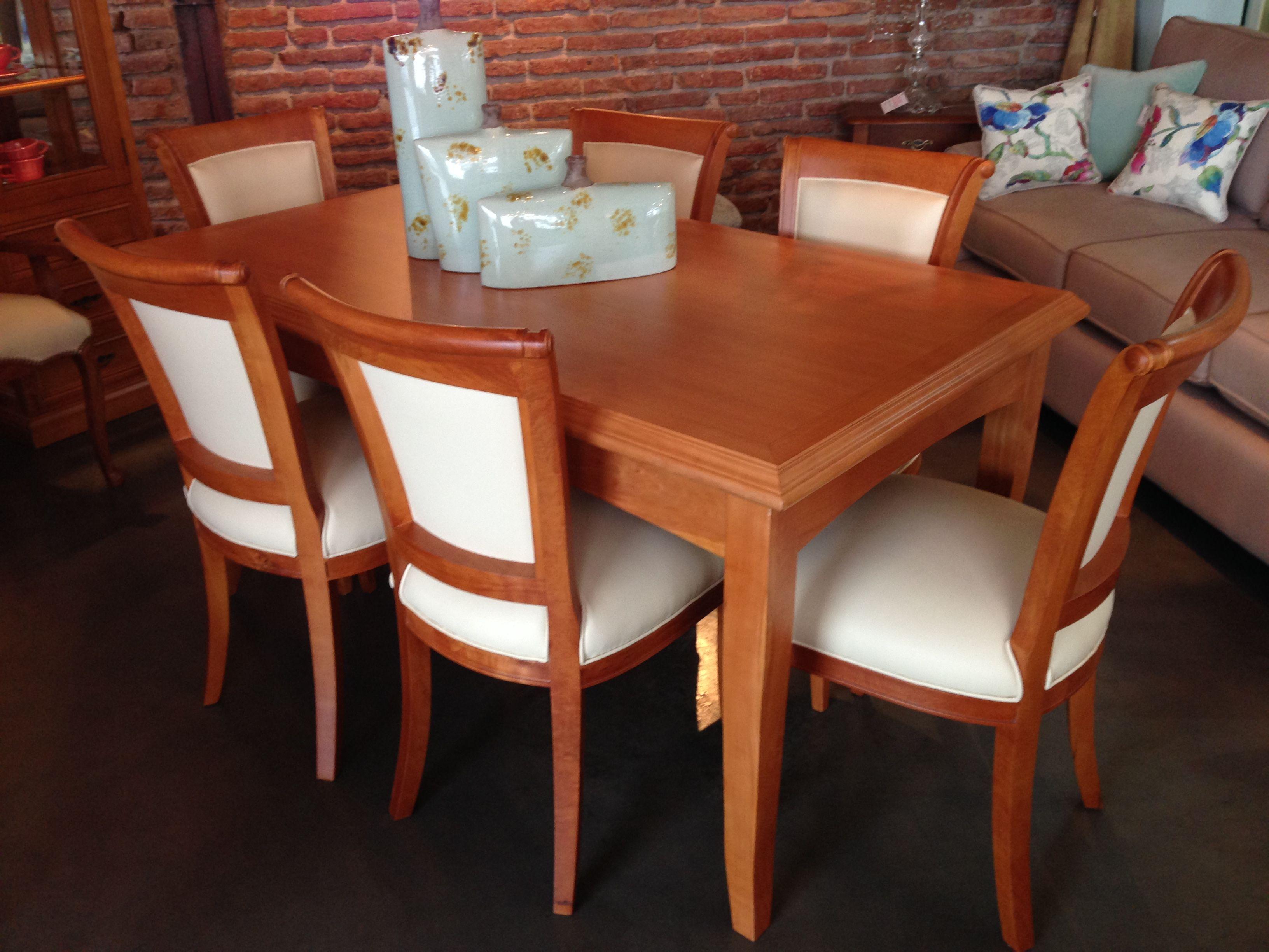 Mesa de comedor Italiana con sillas Fragata | Comedores | Pinterest