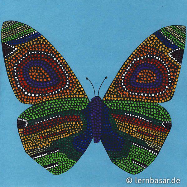 Schmetterling Fliegt