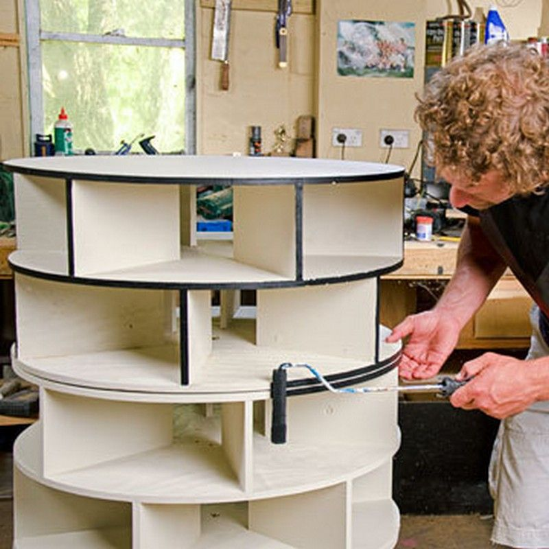 this is a diy lazy susan shoe rack project this shoe rack does not come assembled i will provide the materials and necessary for