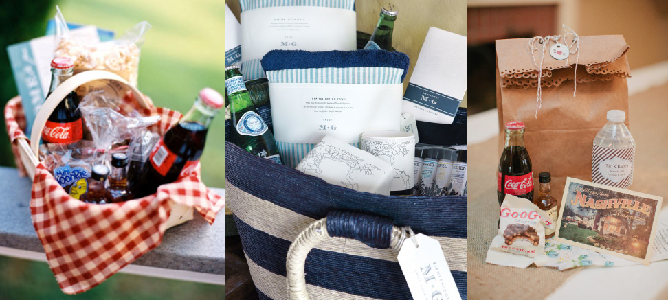 Texas Themed Welcome Bag Ideas Fun Client Wedding