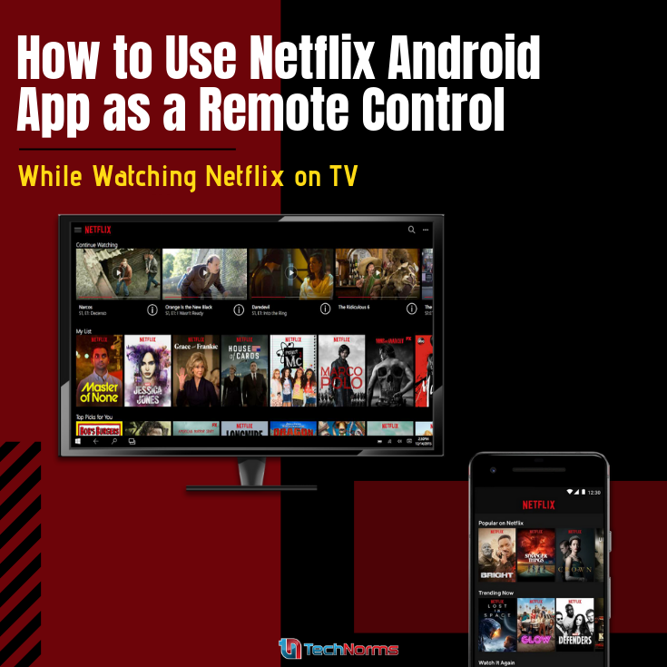 Use Netflix for Android as Remote for Watching Netflix on