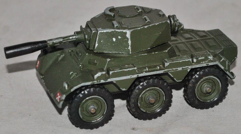 Military Vehicle Toys For Boys : Vintage corgi toys saladin armoured car diecast military