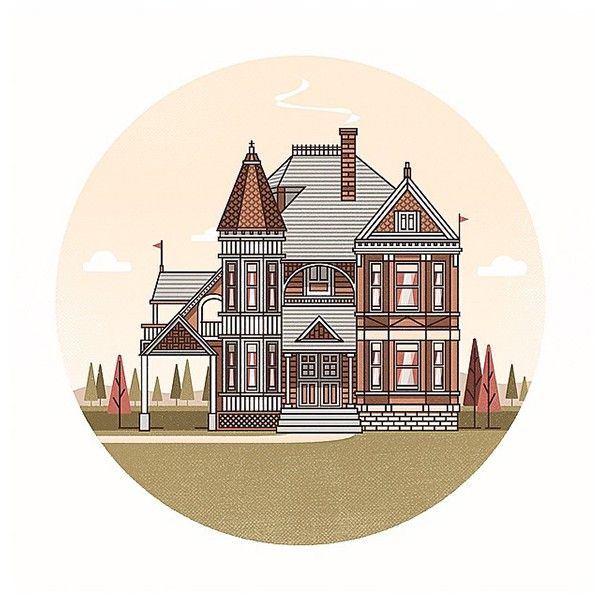 Houses on Behance