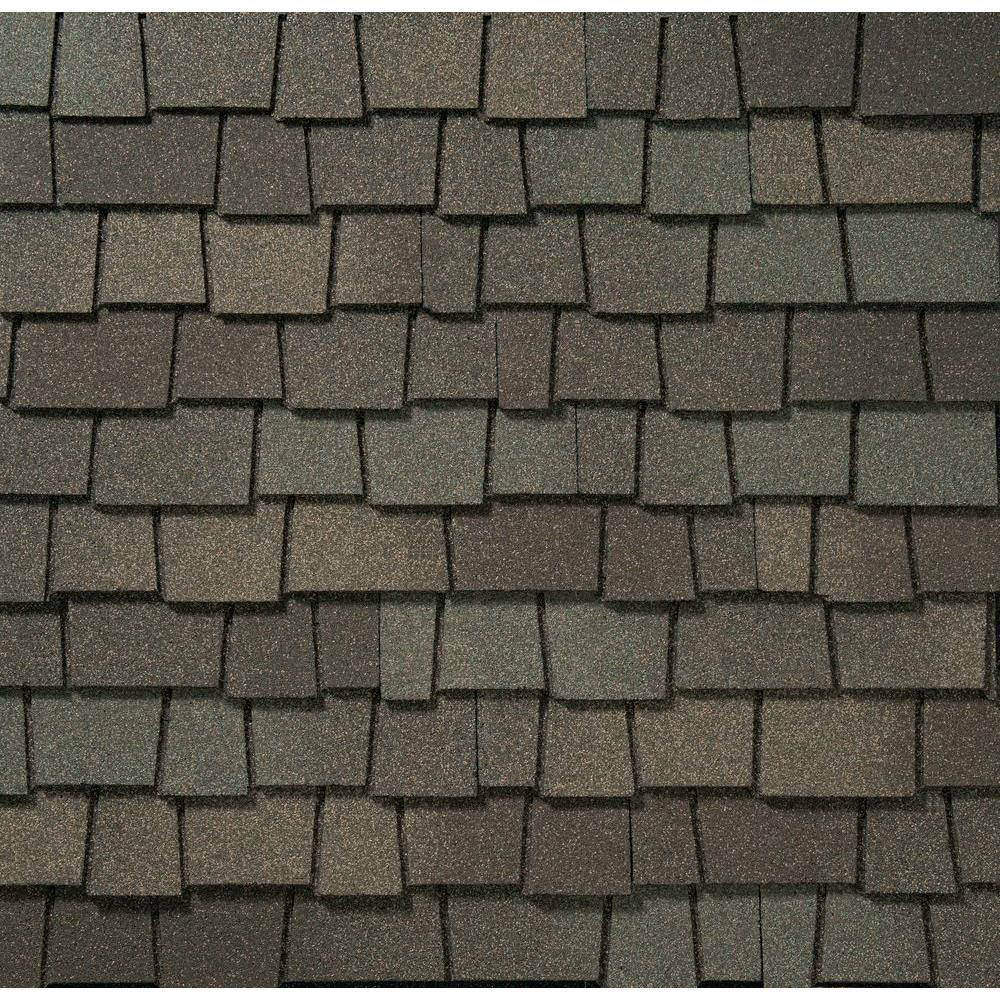 Best Gaf Glenwood Weathered Wood Ultra Premium Lifetime Architectural Shingles 11 1 Sq Ft Per 400 x 300