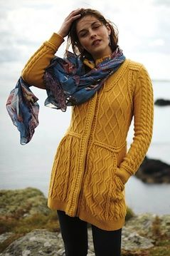Love this yellow sweater jacket! #anthrofave  http://rstyle.me/n/svfj5bg7t7