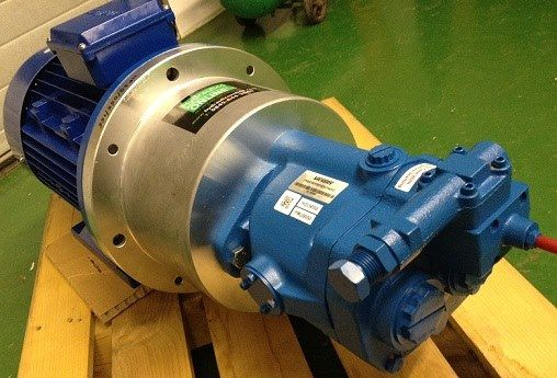 A power generation hydraulic pump motor unit leaving today for Hydraulic pump motor units