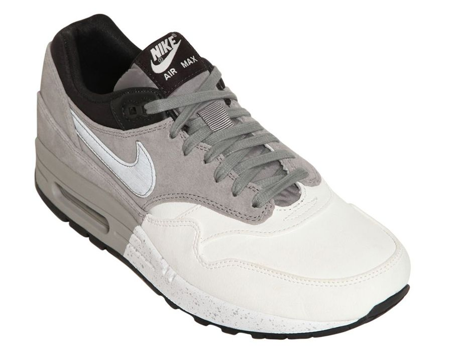 00403bdea990 nike air max 1 grey white black 3 Nike Air Max 1 Grey White Black