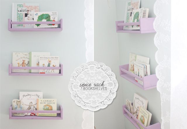 The Ardent Sparrow Weekend Project Spice Rack Bookshelves