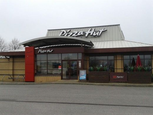 Buffet Lunch At The Pizza Hut In Kingswood Hull Trendy