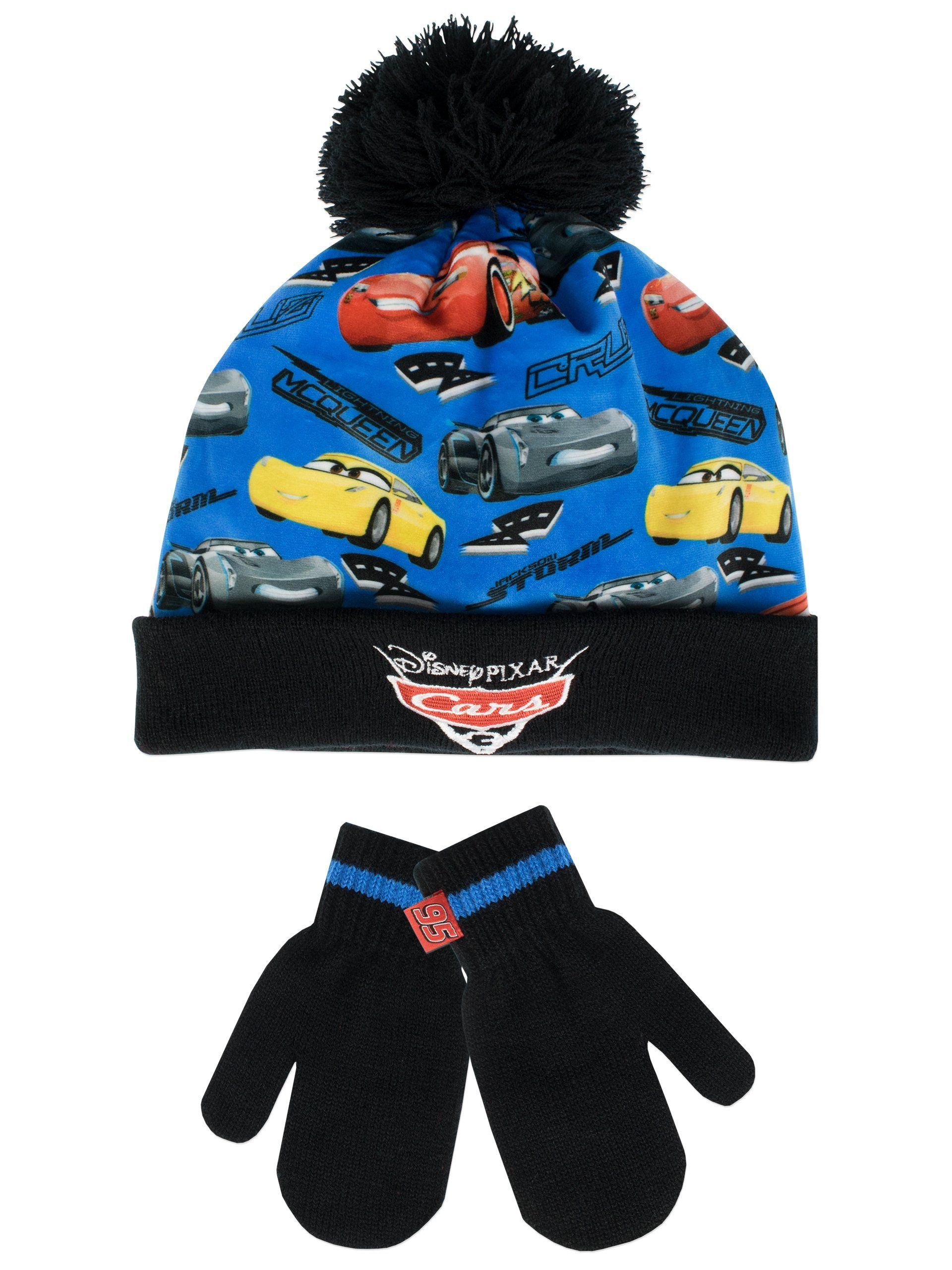 a3bc3f84a85 Disney Cars Boys  Cars Hat and Gloves Set Size 2 - 4 Years. Kids ...