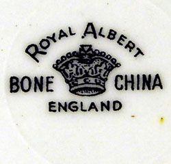 royal albert backstamp dating