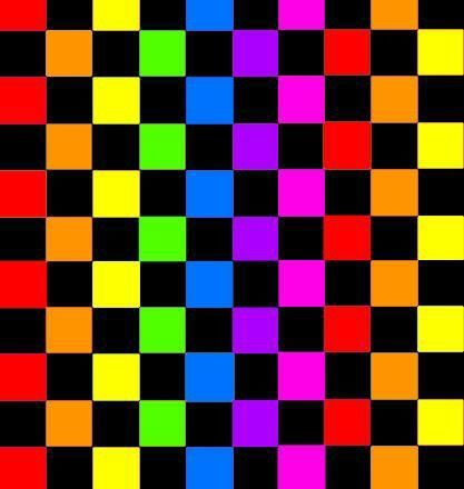 Checkered Rainbow Wallpaper Checker Wallpaper Rainbow
