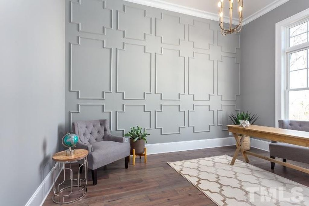 Decorative Wall Molding Options Accent Walls In Living Room