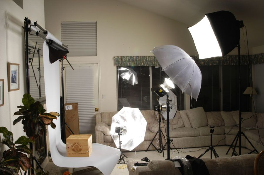Photography Studio Setup Ideas