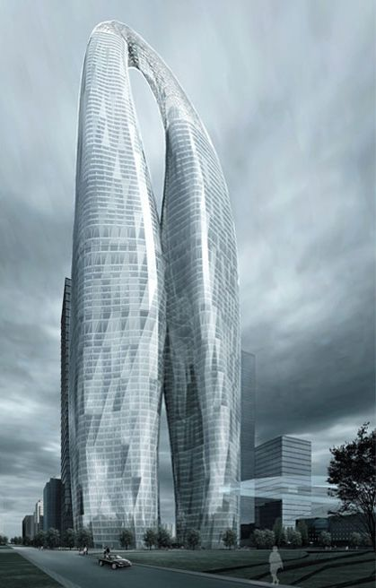 Futuristic Skyscraper, Future #Architecture, 800m Tower ...