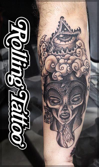 Santa Muerte Tattoo Con Imagenes Tatuajes Imagenes Para