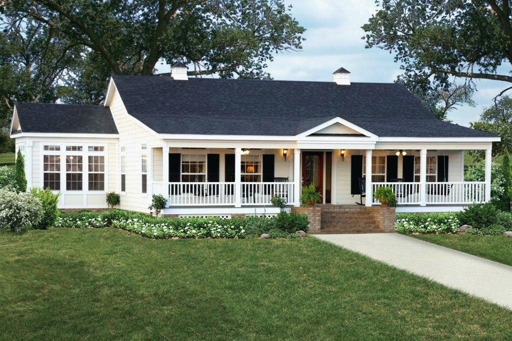 36+ One story farmhouse with wrap around porch best