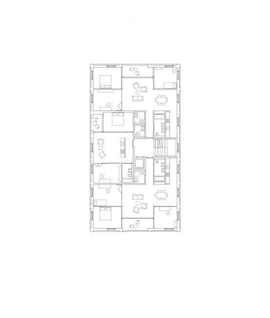 1. Obergeschoss Grundriss wohnung, Grundriss, Foto software