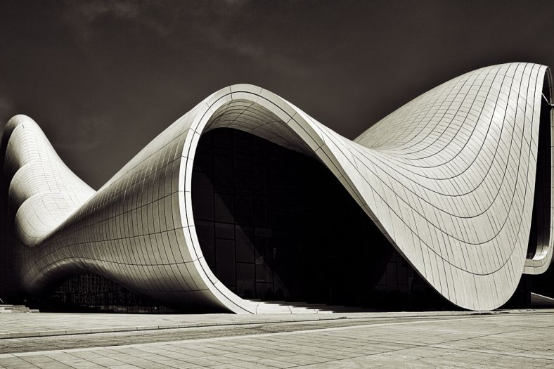 Architecture Heydar Aliyev Cultural Center By Zaha Hadid
