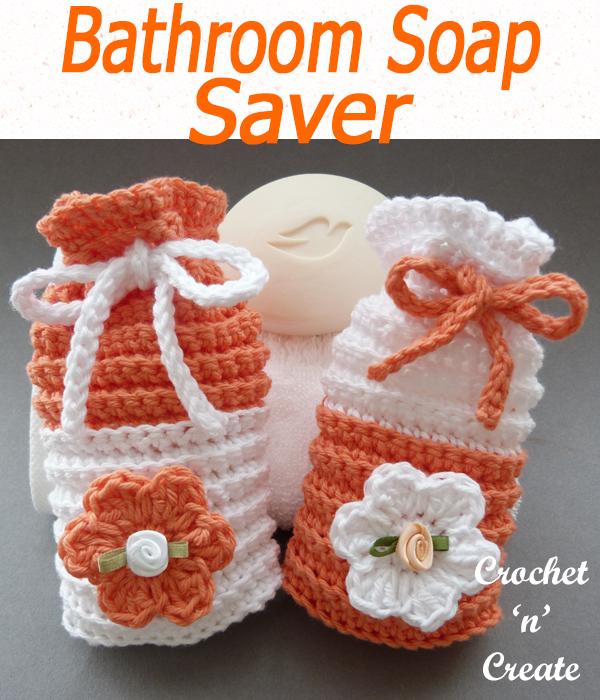 Crochet Bathroom Soap Saver | Crochet patterns, Free ...