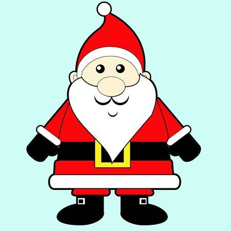 48+ Santa claus clipart easy drawing ideas in 2021