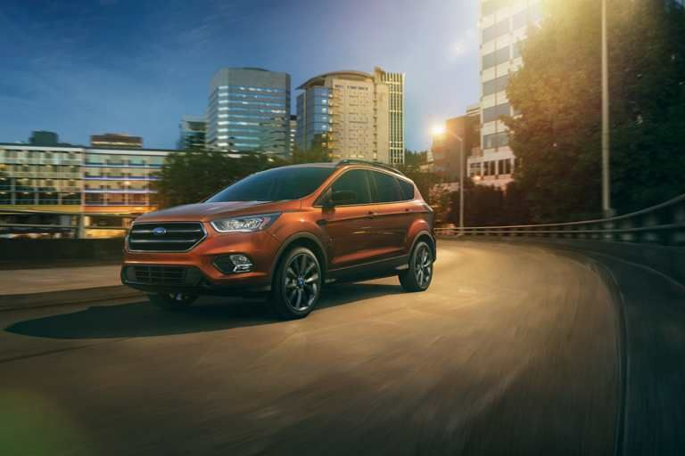 2017 Ford Escape Titanium in Canyon Ridge with Sport Appearance