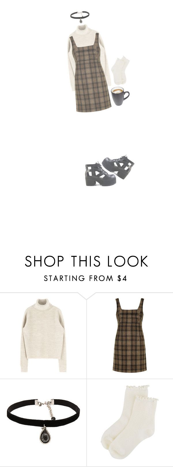 """""""Untitled #1532"""" by cerycat ❤ liked on Polyvore featuring Unique, Natalie B and Forever 21"""