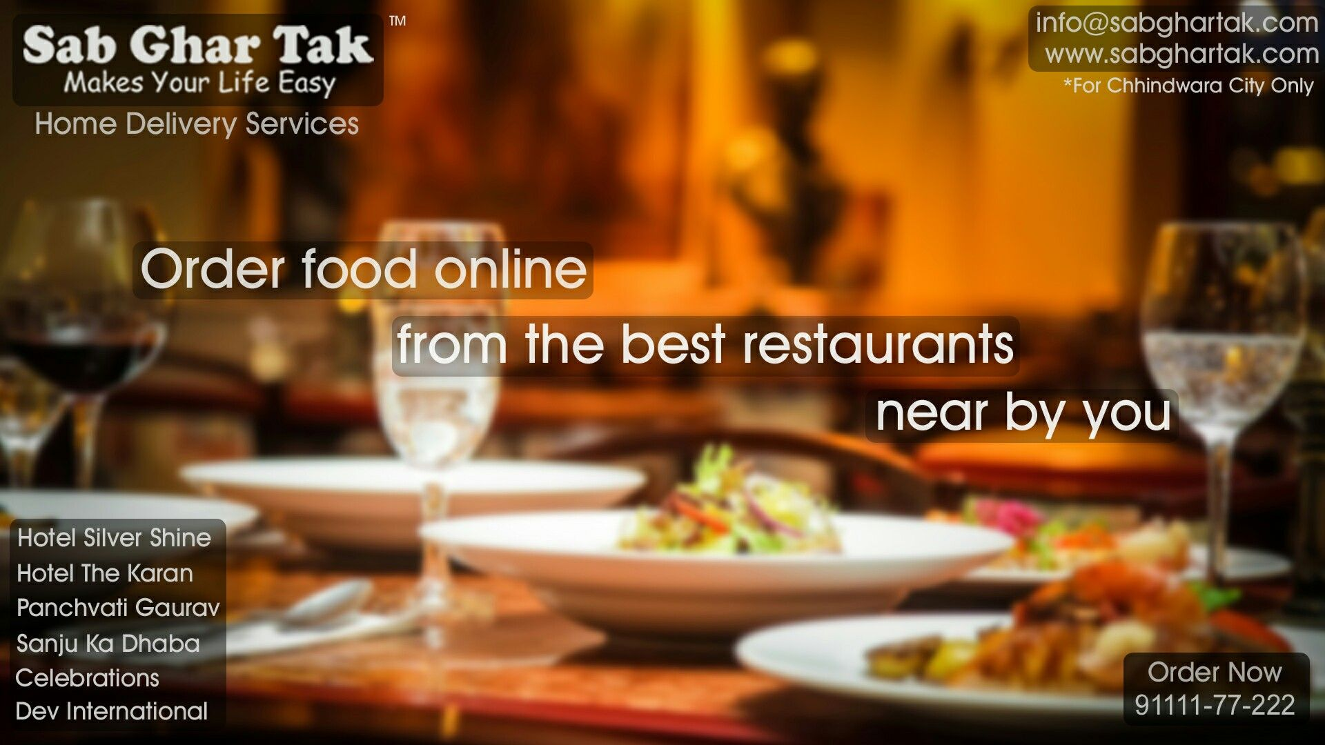 Hotel Silver Shine Enjoy Delicious Food From The Top Restaurant Of Chhindwara City