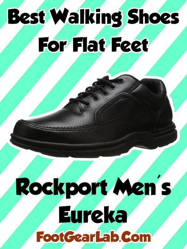 Rockport Men's Eureka - Best Walking Shoes For Flat Feet Men - @footgearlab