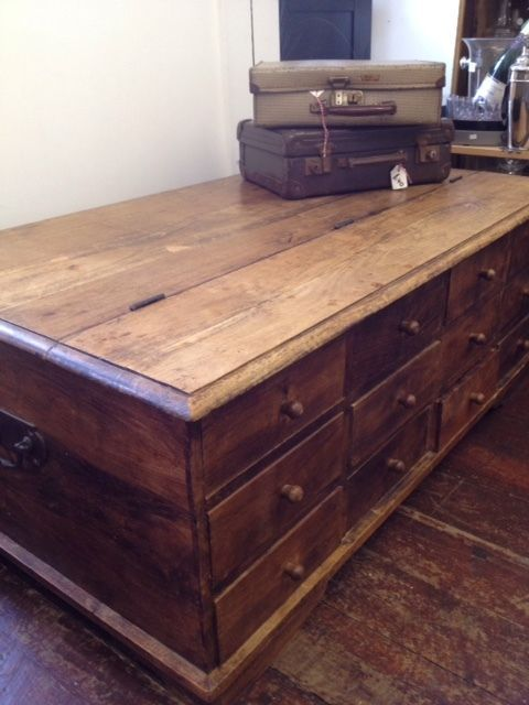 Details About Laura Ashley Merchant Chest Coffee Table Storage