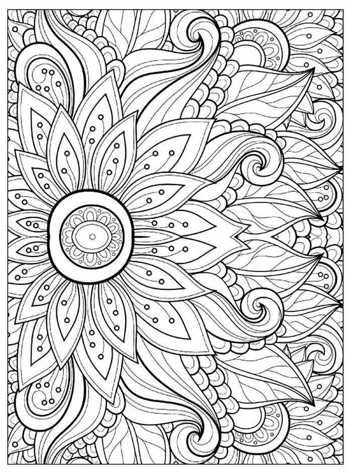 druckbareblumenmalvorlagenfürerwachsene  coloring