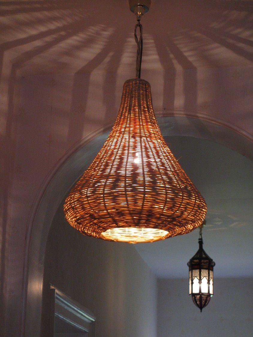 Medium Reed Moroccan Lamp Shade светильники торшеры и ротанга