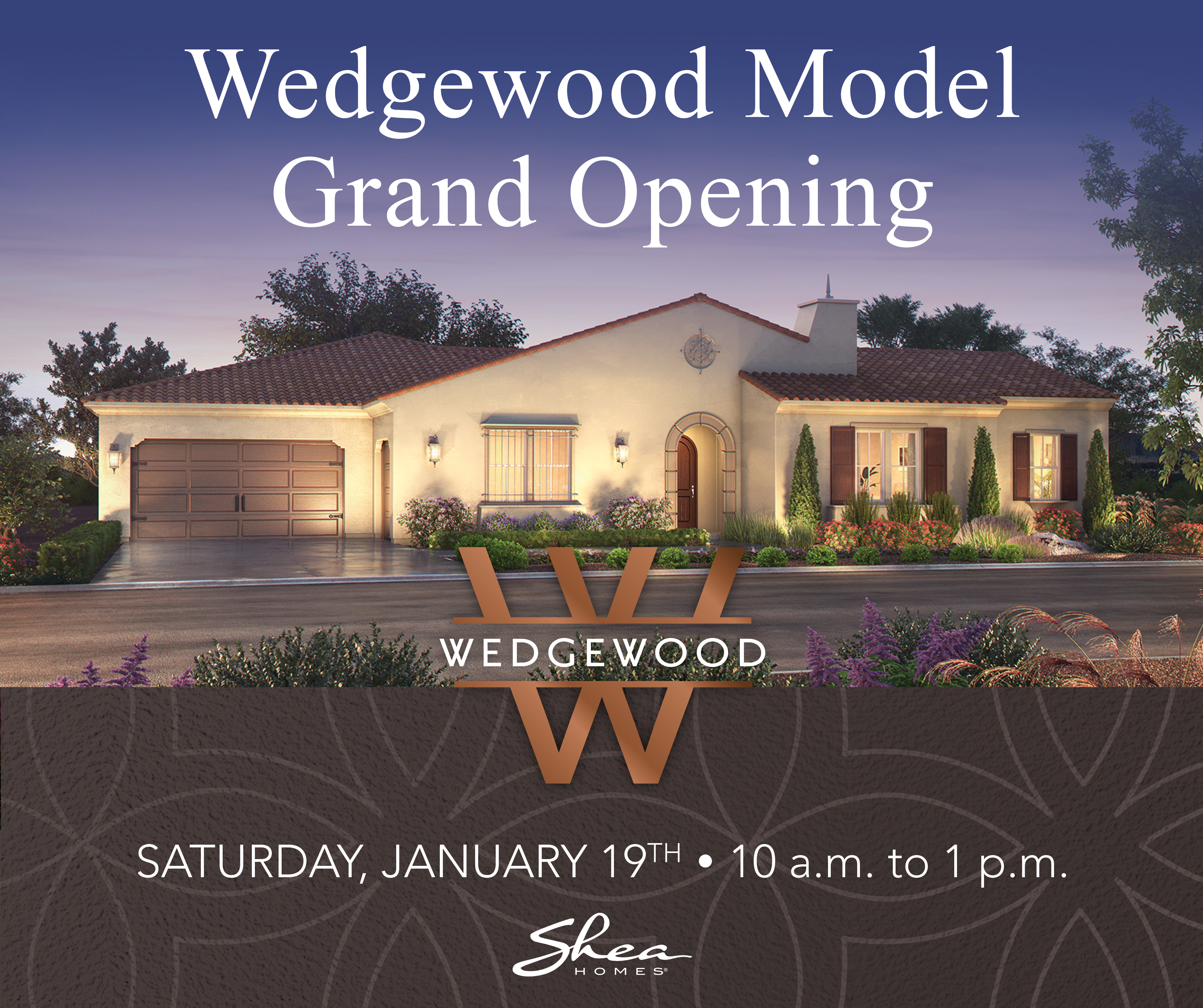 You're Invited to the Model Grand Opening of Wedgewood in Yorba Linda, CA