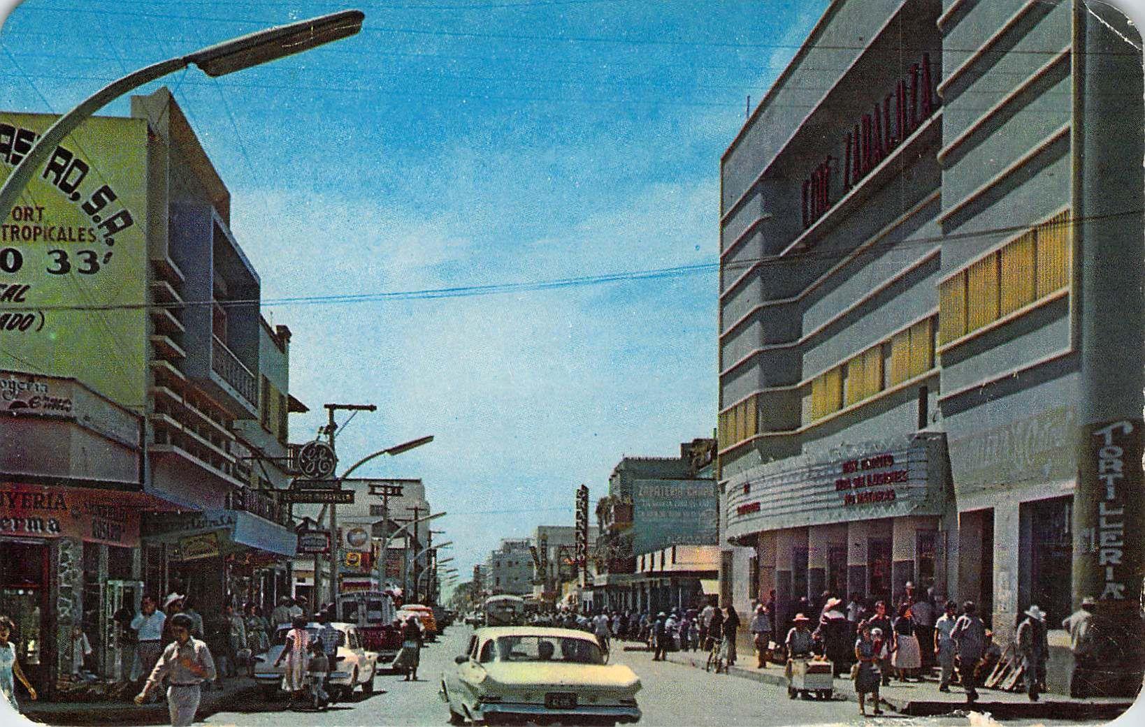 Downtown  Mazatlan, Mexico