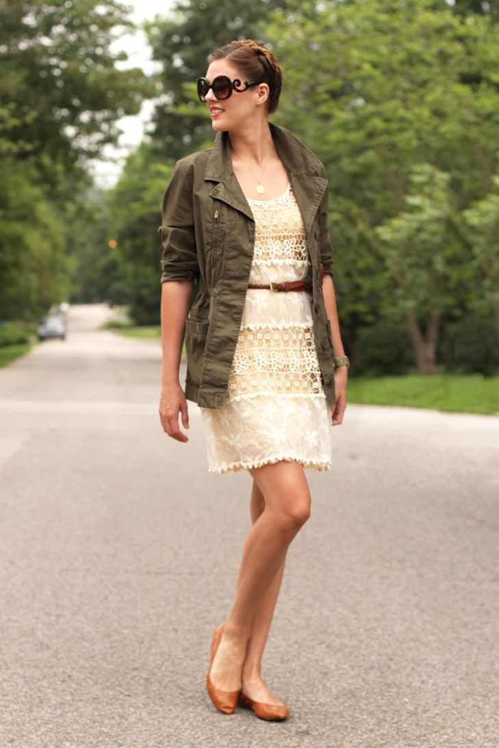 What I Wore: Opposites Attract, Jessica Quirk, Army Green, whatiwore.tumblr.com