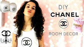 DIY Room Decor: Chanel Canvas - YouTube