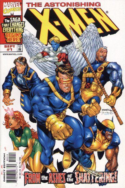 Astonishing X Men Vol 2 1 By Brandon Peterson Tim Townsend Comic Covers Comics X Men