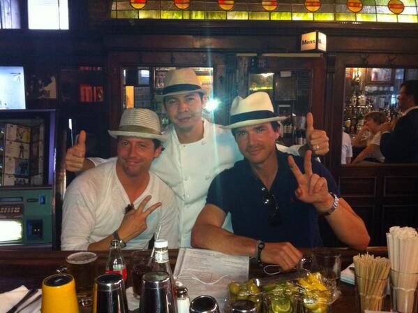 Ross Mccall With Friends From Band Of Brothers