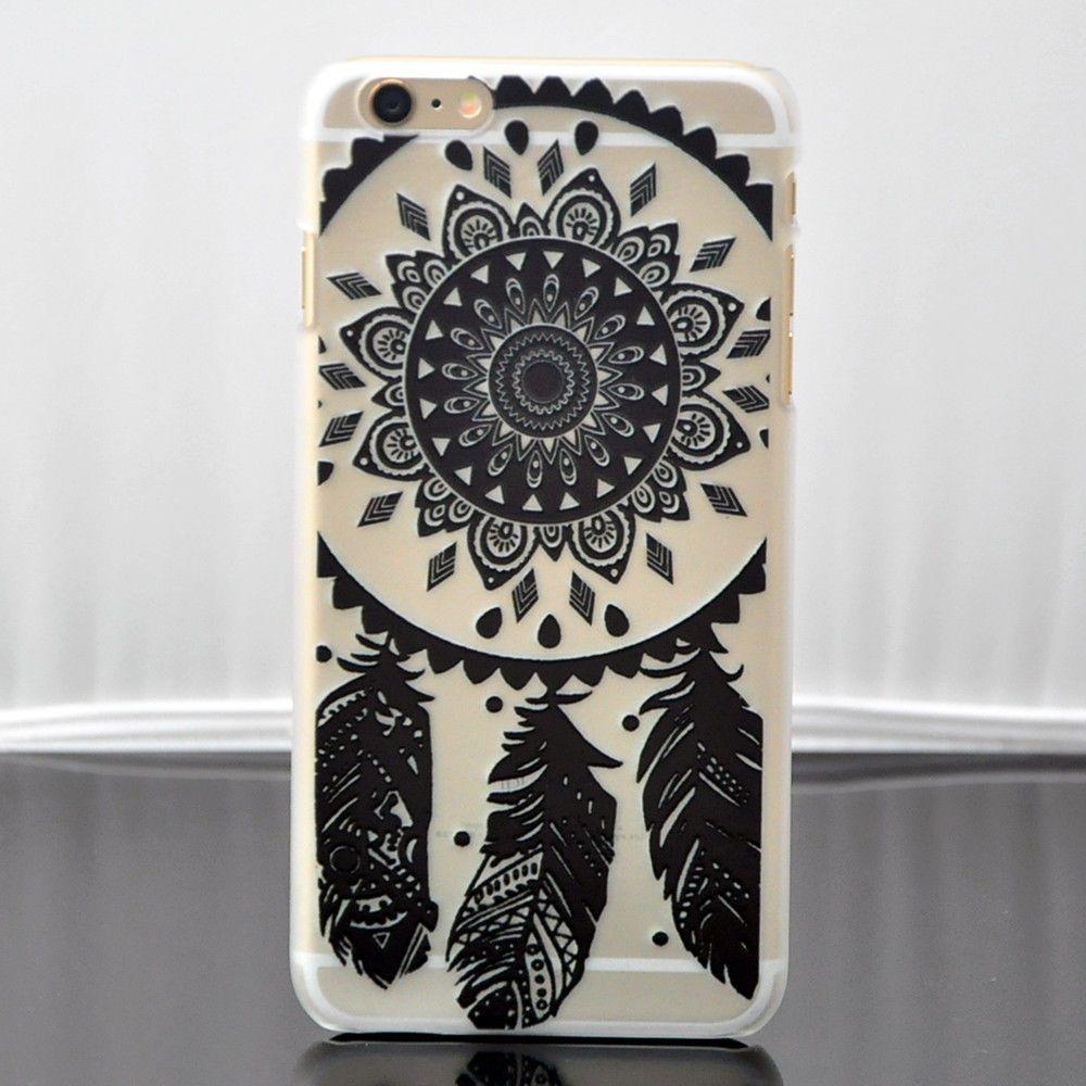 Black Dream Catcher iPhone Case