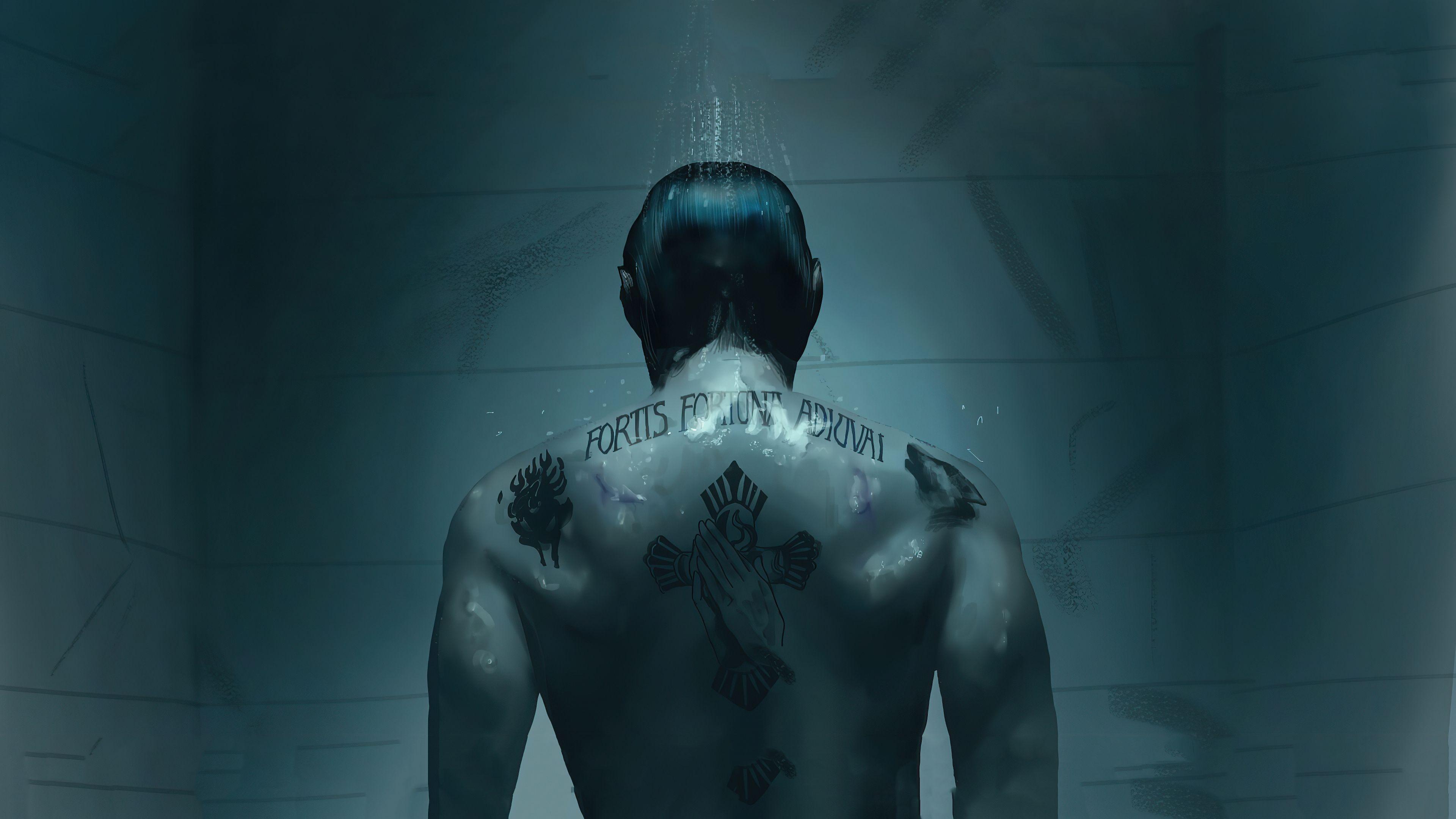 John Wick Tattoo John Wick Tattoo 4k Wallpapers John Wick Tattoo Keanu Reeves Wallpaper John wick tattoo wallpaper