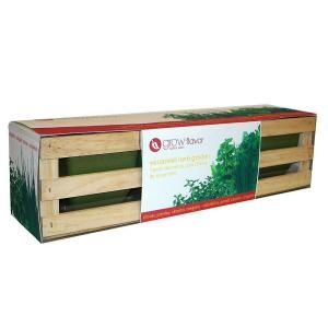 Good Ferry Morse, Grow Flavor Windowsill Herb Garden Kit, 8903 At The Home Depot