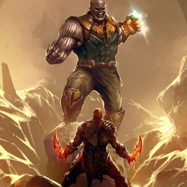 Who Would Win Kratos Vs Thanos Thanos Vs Kratos By Kalmahul Thanos Kratos Godofwar Infinitywar Marvel Comicart Kratos God Of War God Of War Marvel