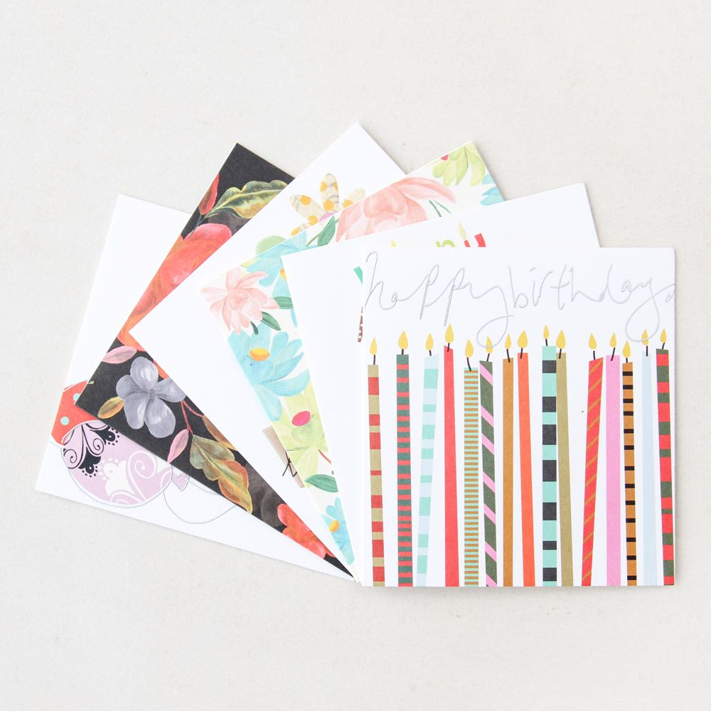 be prepared for every birthday with our new mixed greeting card packs this pack contains - Birthday Card Packs