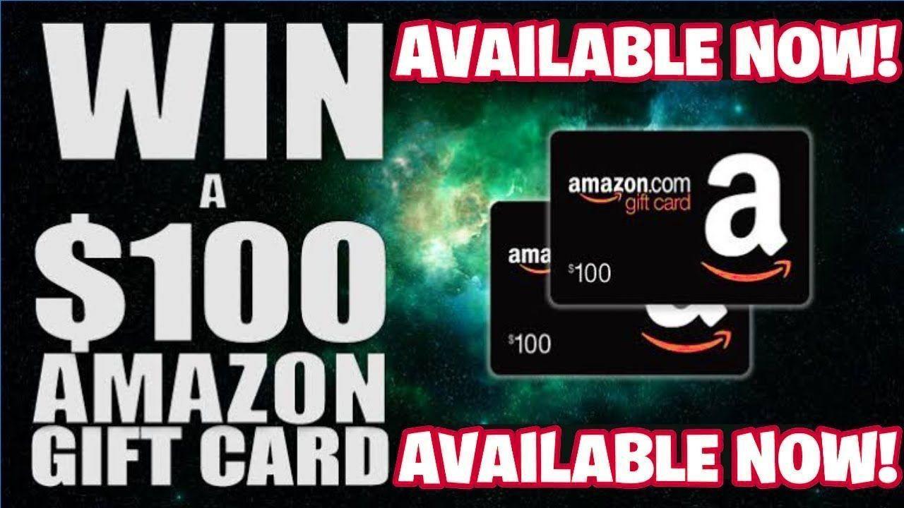 Free 100 amazon gift card code in 2020 Amazon gift