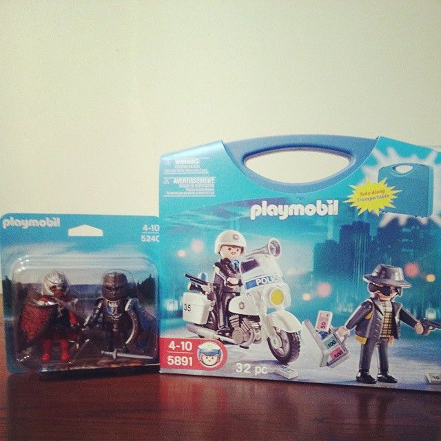 Os últimos este mes valeu apena a promoção :)#playmobil #colecao