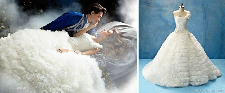 Sleeping Beauty - Alfred Angelo smallworldbigfun.com #disney ...