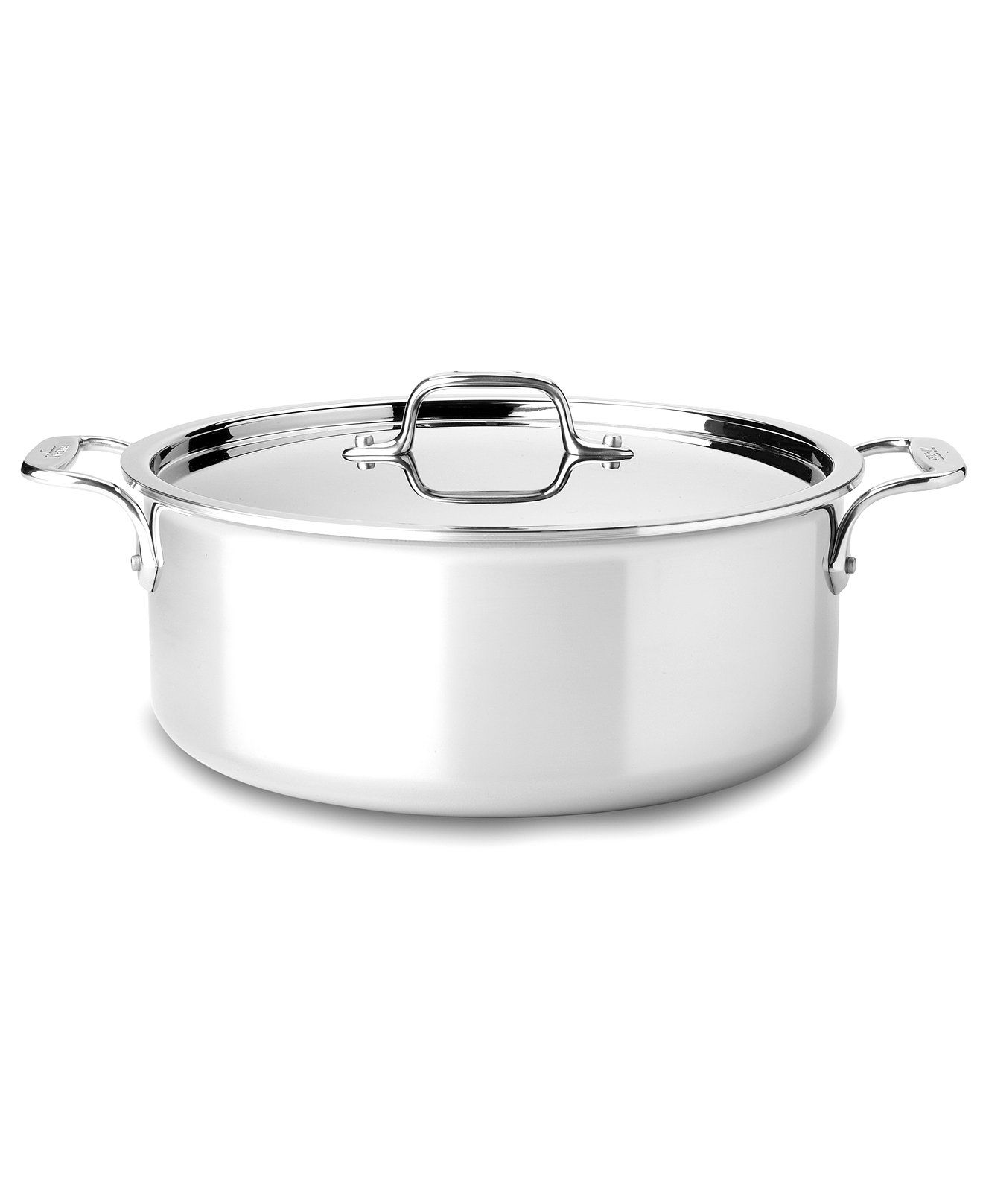 All-Clad Stainless Steel 6 Qt. Covered Stockpot | Stainless steel ...