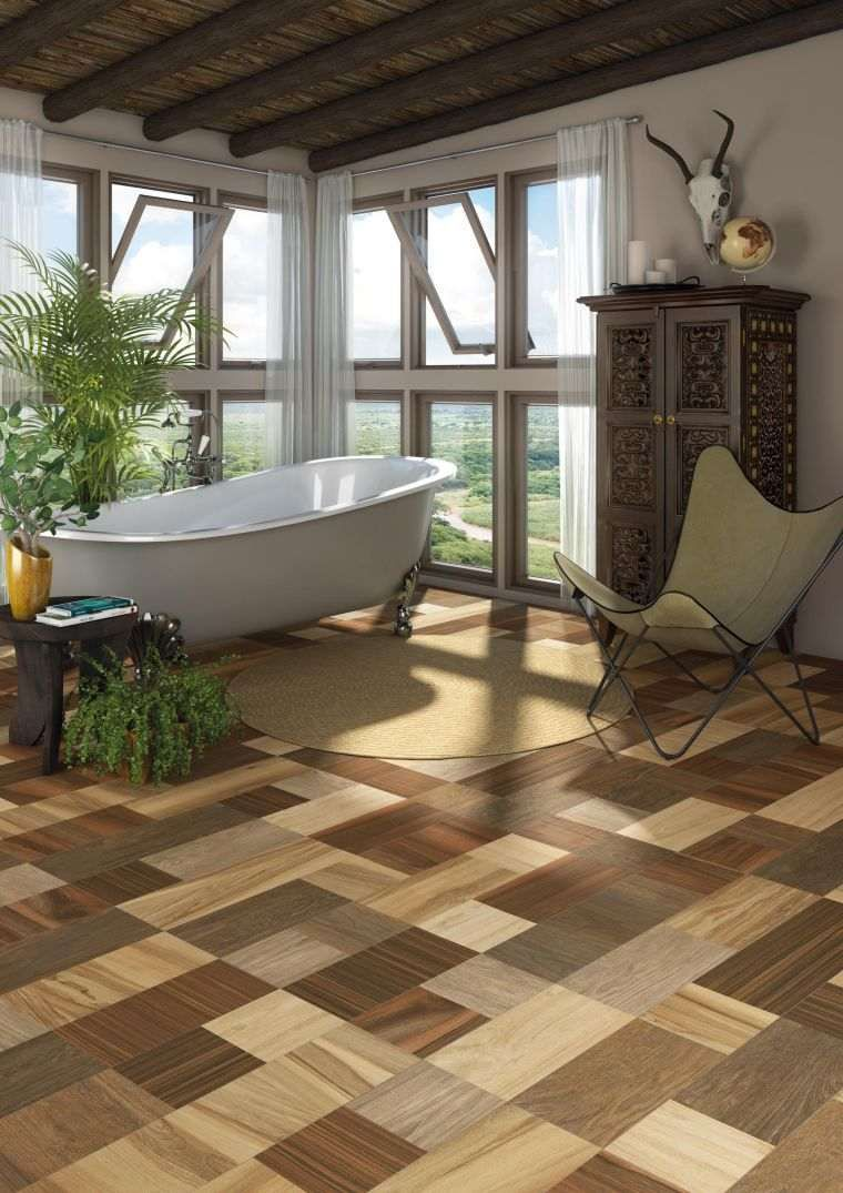 Imitation parquet floor tiles in 85 awesome ideas awesome floor ideas imitation parquet tiles