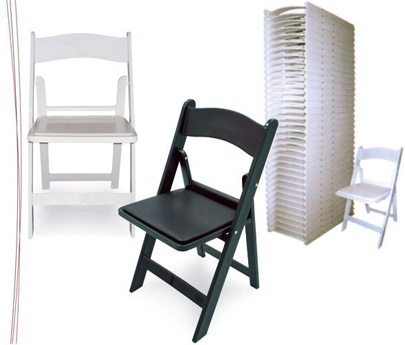 Gladiator Folding Chairs By McCourt MFG. The Only Resin Chair Available  With Steel Reinforced Legs